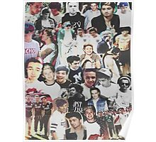 One Direction Collage Poster