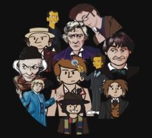 doctor who timeline no background by MBclothing