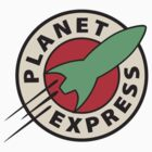 Planet Express Logo - Green by Magellan