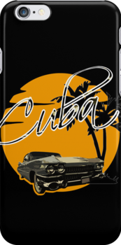 Cadillac - Cuba by SeijiArt