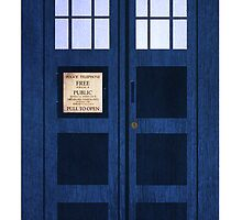Portable Doctor Who Tardis by Edwin Culling (Bearded Wonder Kid)