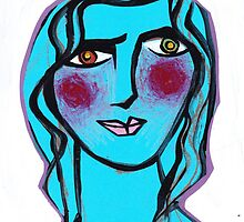 Cerulean Cecilia by Rosemary Brown