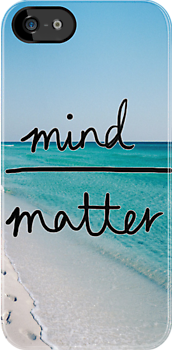 Mind Over Matter Phone Case by alicelaura