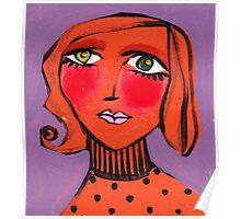 Twiggy Tangerine Poster