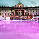 Skating at Somerset House by Jasna