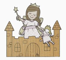 Cardboard Kid Castle (Little Stars Collection) Kids Clothes
