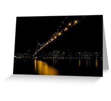 Manhattan Bridge NYC Greeting Card