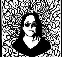 Ozzy Osbourne by JaySawyerdesign