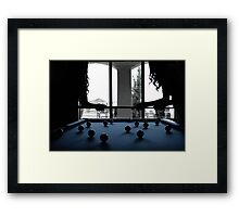 Silhouettes  Framed Print