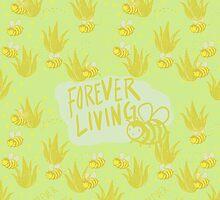 Forever Living: Bee's and Aloe by Yetzenia Leiva