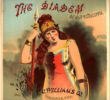 TC Williams of Old Virginia Tobacco - The Diadem - Retro Poster  by sturgils