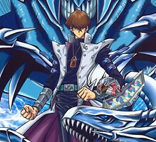 Kaiba, Blue-Eyes White Dragon & Obelisk by hydekoala