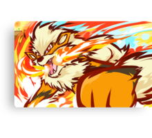 Arcanine | Fire Fang Canvas Print