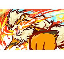 Arcanine | Fire Fang Photographic Print