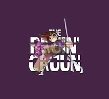 The Ragin' Cajun (Gambit, Purple, Phone Case) by BasiliskOnline