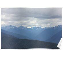 Perfecet Mountain Vista Poster