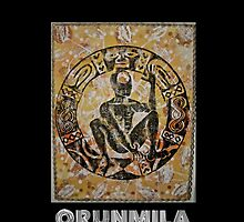 Orunmila, Orixa of divination by Ginga & Helen Dos Santos