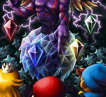 A Challenge from the Dark Knight of Vanda by BigOrangeStar