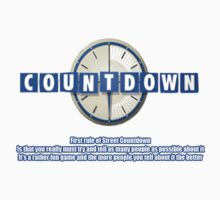 The first rule of street countdown by LeeLeeMoreau
