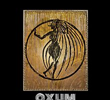 Oxum, Orixa of rivers and sensuality by Ginga & Helen Dos Santos