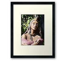 Exquisite Beauty  Framed Print