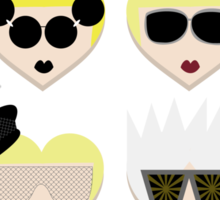 I Heart Gaga - The Fame Edition Sticker