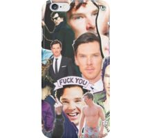 benedict collage iPhone Case/Skin