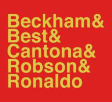 Man Utd Star Players by dictionaried
