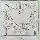 Ode to Keith Haring by Carrie Brummer