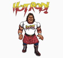Hotrod Rowdy Roddy Piper T-Shirt WWF by icwkev