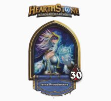 Hearthstone Jaina Proudmoore Badge (logoed) by KORB