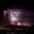 Fireworks at Calton Hill by PhilipCormack