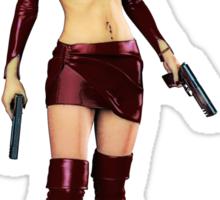 Twin Pistols Sticker