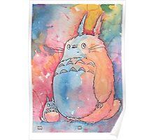 Totoro at Sunrise Poster