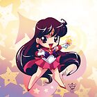 Chibi Super Sailor Mars by MakoFufu