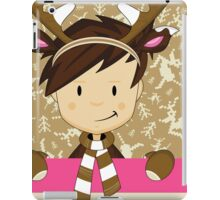 Cute Reindeer Boy  iPad Case/Skin