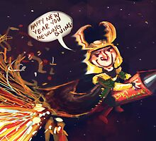 An Asgard New Year to you! by christisocool