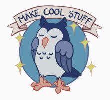 Make Cool Stuff owl emblem Kids Clothes