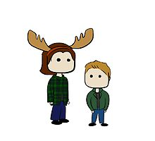 Sam and Dean  by rwang