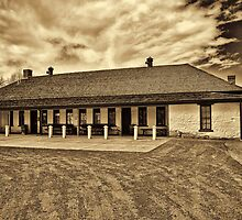 Ft. Bridger Museum  by Brenton Cooper