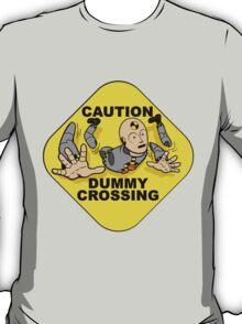 Crash Test Dummies - Caution Dummy Crossing - Gray Dummy T-Shirt