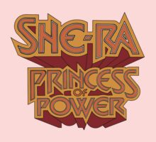 She-Ra Princess of Power - Logo - Color by DGArt