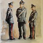 I carabinieri by Ivana Pinaffo
