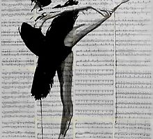 the black tutu by Loui  Jover