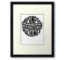 IBM Framed Print