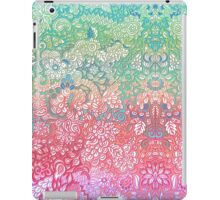 Soft Pastel Rainbow Doodle iPad Case/Skin