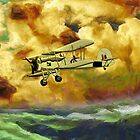British WWII Swordfish Biplane iPad/iphone/iPod/Samsung cases by Dennis Melling