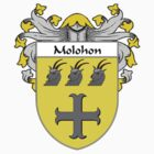 Molohon Coat of Arms/Family Crest by William Martin