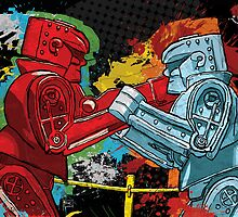 Clash of the Robot Titans by Todd Bane