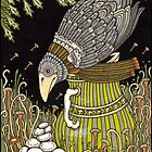 The Crow and the Pitcher (Colour) by Anita Inverarity